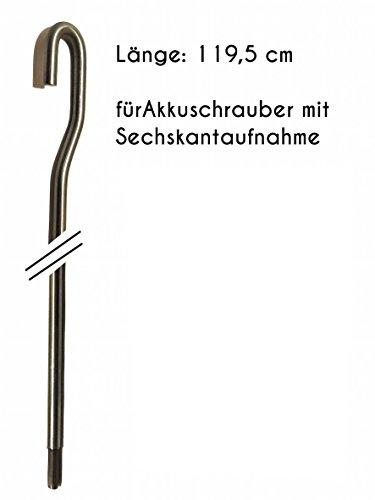 *** Markisenkurbel für Akkuschrauber ***elektrisch elektromechanisch Markise