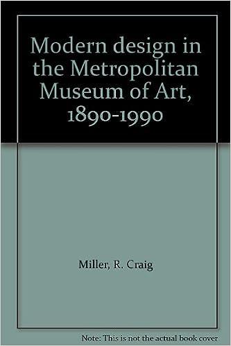 Modern design in the Metropolitan Museum of Art, 1890-1990