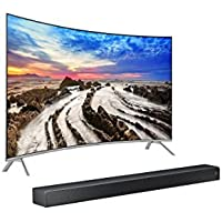 UN55MU8500 Curved 55-Inch 4K UHD  TV & Sound+  7 Series Soundbar Bundle