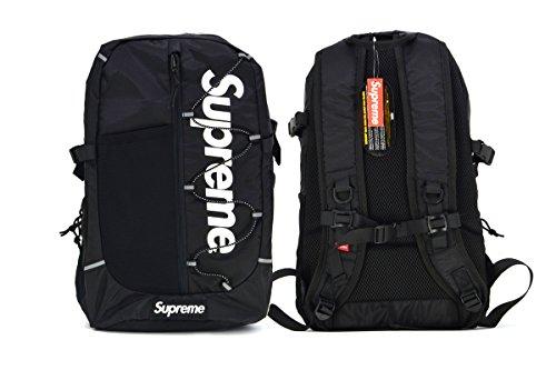 BRAND NEW SUPREME BLACK CLASSIC (New Black Backpack)