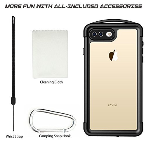 more photos 9cac5 01ab2 iPhone 7 Plus/8 Plus Waterproof Case,SNOWFOX Shockproof - Import It All