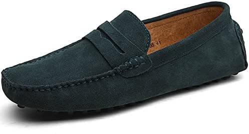 db8dbf21064 8 bình luận. Từ Mỹ. rismart Men s Classic Original Suede Leather Penny  Loafers Comfort Driving Shoes ...