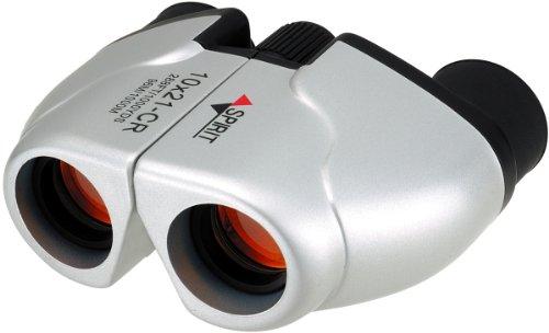 NASHICA 쌍안경 SPIRIT 10×21 CR-IR-W 폴로 프리즘식 10배 21구경 실버 10×21CR-IR-S