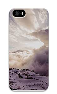 Case For Iphone 5/5S Cover landscapes nature snow 1 3D Custom Case For Iphone 5/5S Cover Cover