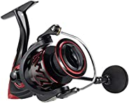 Piscifun Honor XT Spinning Reel, 5.2:1, 6.2:1 High Speed Gear Ratio, 10+1 Stainless Steel Bearings Spinning Fi
