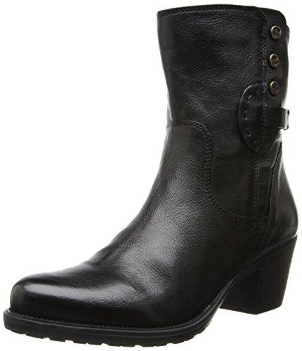 Clarks Women's Maymie Skye Boot Black Leather