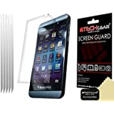 Techgear Clear LCD Screen Protector for Blackberry Z10 (Pack of 5)