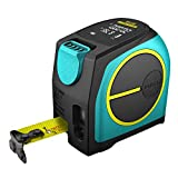Laser Tape Measure 40M /131 Feet with Rechargeable Battery Large LCD Display