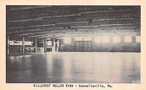 Hillcrest Roller Rink, Connellsville, PA USA Roller Skating Postcard Hillcrest, Connellsville, PA USA Unused