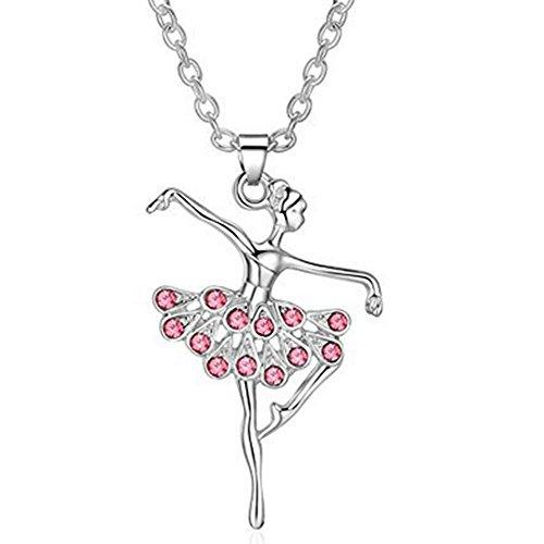 Joyfulshine Dancing Ballerina Pendant Necklace product image