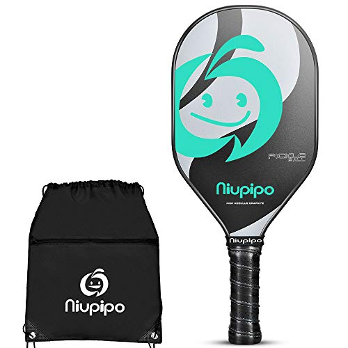 - Pickleball Paddle, Composite Pickleball Racket, Polyproylene Honeycomb Core, Ultra Cushion 4.5 In Grip 7.58oz Lightweight Pickleball paddles for Family Kids Outdoor with Pickleball Racquet Cover,Green