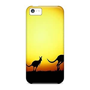 For Iphone Cases, High Quality Australian Kangaroo For Iphone 5c Covers Cases