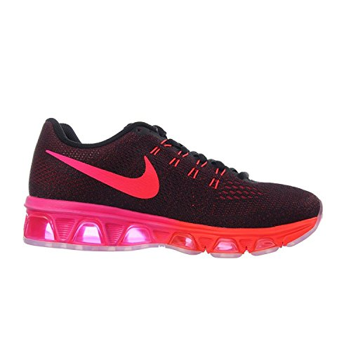 Nike Air Force, 1 Sports Footwear for Men Black / Multicoloured / Noble Red