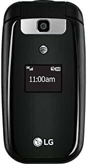 LG B470 AT&T Basic Flip Phone (black)