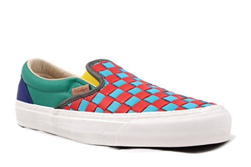 8bd57dd00b1 Vans Vault OG Classic Slip On LX 50th Checkered Past Collection - Buy Online  in UAE.
