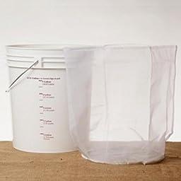 Nylon Sparging Bag for 7.8 Gallon Buckets