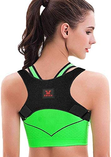 Posture Corrector for Men and Women – Yougreast Adjustable Back Brace Effective and Comfortable Back Shoulder Clavicle Support &Neck Pain Relief