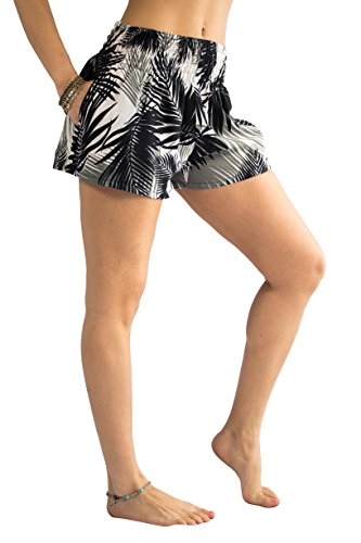 40b66a0cd66d7e PIYOGA Women's Casual High Waisted Shorts - Bohemian Boutique Yoga Summer  Beachwear - One Size Stretches