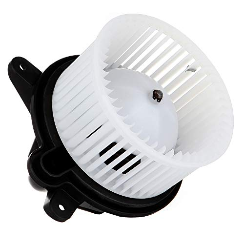 cciyu HVAC Heater Blower Motor with Wheel Fan Cage 4886150AA Air Conditioning AC Blower Motor fit for 1997-2001 Jeep Cherokee /1997-2001 Jeep Wrangler