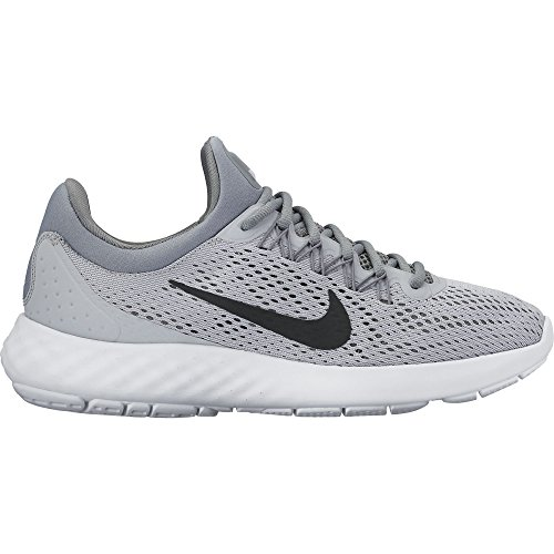 Black Womens Smart Shoe - Nike Womens Lunar Skyelux Wolf Grey/Black/Cool Grey, 6.5 B(M) US