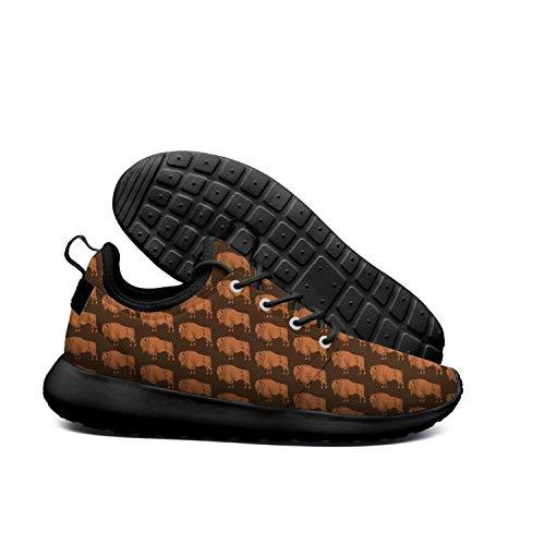 Orange Buffalo Lightweight Running Shoes for Women Sneaker Trail Running Breathable