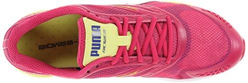 Puma Womens Bioweb Speed Running Scarpa Barbabietola Viola / Spettro Blu / Argento Metallizzato