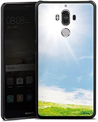 Huawei Mate 9 Carcasa Hard Case Cover Wiese Paisaje sol: Amazon.es ...