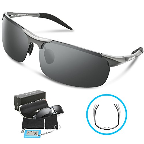 Pulabecs-Mens-Polarized-Sports-Sunglasses-For-Men-And-Women-Fishing-Golf-Al-Mg-Unbreakable-Frame