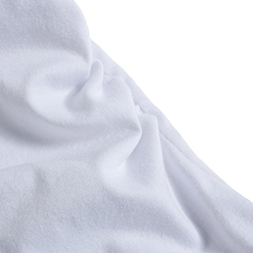Q.KIM Camiseta de maternidad Elasticidad Suave Embarazada Camiseta Premamá T-shirt bebé divertido estampado Estilo 46