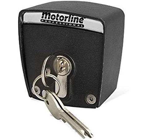 Selector de llave exterior de superficie de 2 contactos Motorline SCMV START para accionamiento de motores de puertas de garaje, persianas comerciales, automatismos, control de accesos: Amazon.es: Bricolaje y herramientas