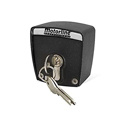 Selector de llave exterior de superficie de 2 contactos Motorline SCMV START para accionamiento de motores