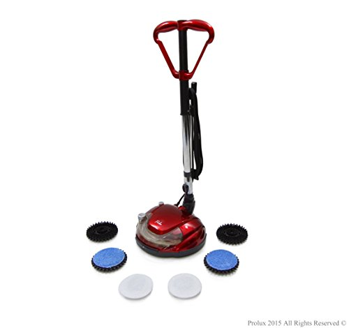 Prolux Hard Floor Cleaner Polisher Buffer Hardwood Grout Tile Scrubber Waxer Floor Mop