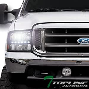 Amazon.com: Topline Autopart 6000K Hid Bi-Xenon Black Led