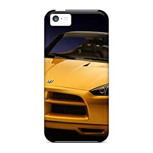 Durable Defender Case For Iphone 5c Tpu Cover(dodge Demon Concept 5)