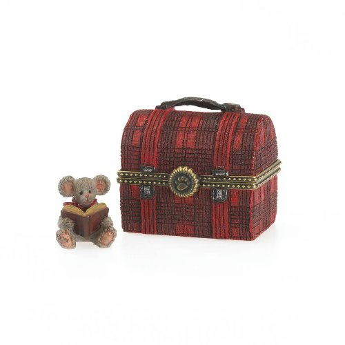 Boyds Resin Lunchbox Treasure Box with Crumb