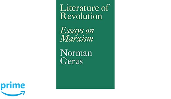 relationship between literature and revolution