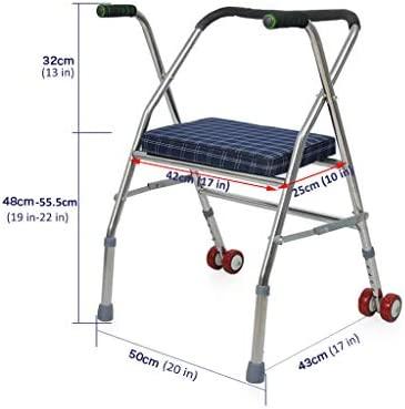 LHNLY-Andadores Bastidor para Caminar con sillones con Ruedas ...