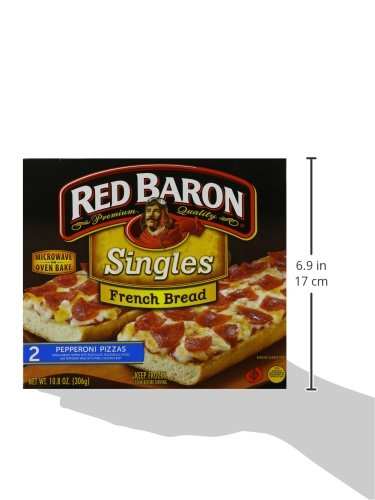 Red Baron French Bread Pepperoni Pizza 1080 Oz Frozen Amazon