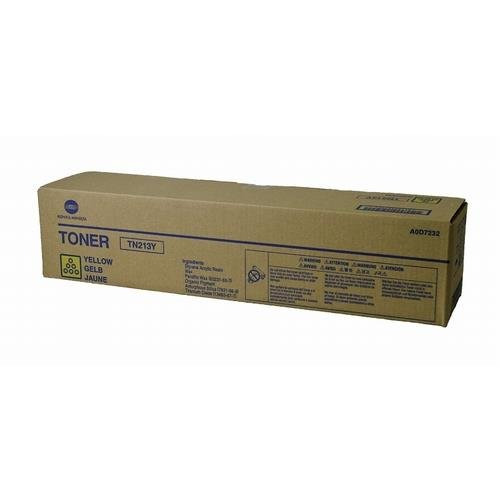 Konica Minolta, NEC TN213Y OEM Yellow Toner Cartridge ()