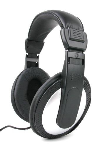 DURAGADGET Lightweight & Ultra-Portable, Passive Noise-Cancelling, Stereo Over-Ear Headphones for New LG Liger (F490L) / LG Tribute/Oppo R1S / Oppo R5