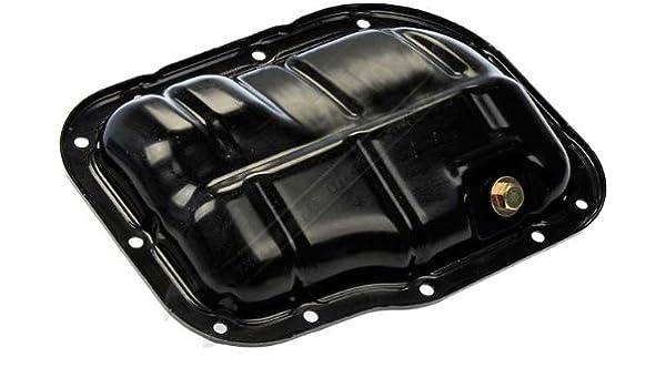 APDTY 375435 Engine Oil Pan w//Drain Plug Fits 1.8L On Select Toyota Scion Lexus