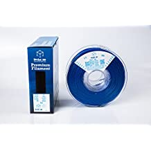 TPU, Blue, Premium Flexible 3D Printer Filament 1.75mm +/- 0.03mm, 1 KG (2.2 lb)