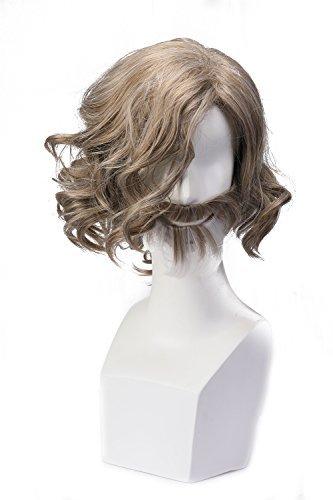Movie Main Character Cosplay Wig Xcoser Brown Hair for Men Boy]()