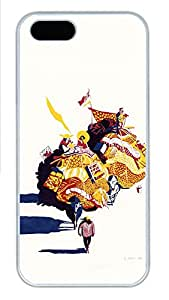 iPhone 5s Cases & Covers - Creative Food Cartoon 2 PC Custom Soft Case Cover Protector for iPhone 5s - White