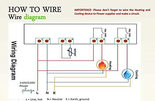 stc 1000 wiring diagram for incubator inkbird all purpose digital temperature controller fahrenheit and  digital temperature controller