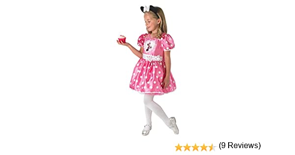 Rubies 3888830M - Disfraz de Minnie Mouse con Cupcake Rosa: Amazon ...