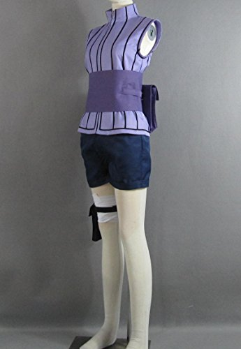 Cuterole Women Naruto last-Hinata Hyuga Ninja Uniform Anime Cosplay Costume