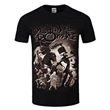 My Chemical Romance Men's On Parade MCR T-shirt Black