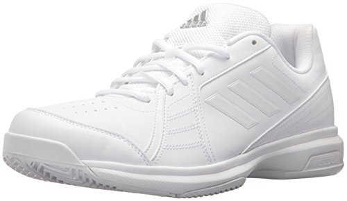 adidas Men's Approach Tennis Shoe, White/White/White, 11.5 M US