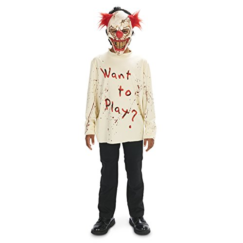 Dream Weavers Costumers Carn-Evil Playful Clown Child Costume L -